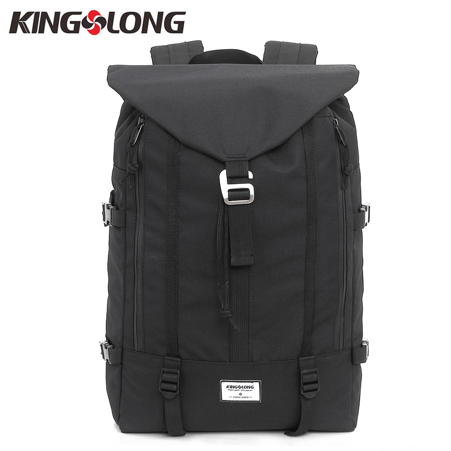2471e83187c1 KONGSLONG Large Capacity Nylon Backpack for Travelling Drawstring Men  Backpack Black Male Backpacks for Teenagers KLB1347BK
