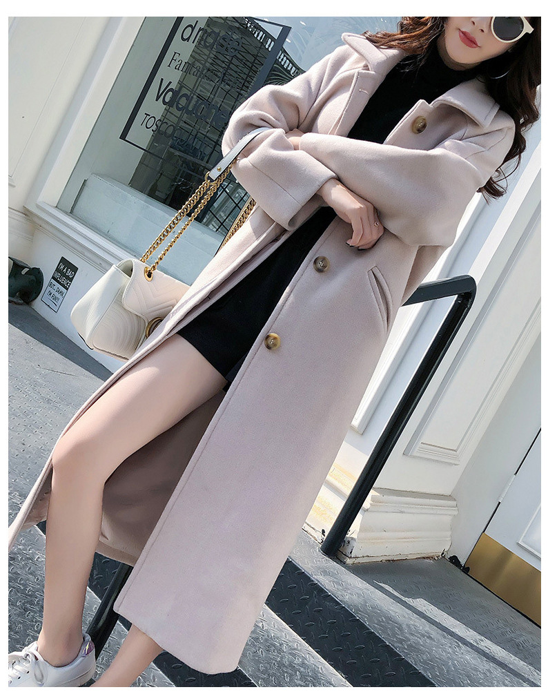 Fashion Winter Trench Coat For Women Long Coat Women Plus Size lingerie manteau femme hiver abrigos mujer invierno 18 3