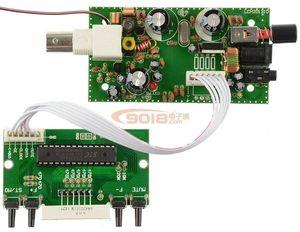 Image 2 - BH1415F 100M FM 스테레오 송신기 보드 위상 고정 루프 디지털 LED 디스플레이 주파수 FM 라디오 모듈 수신기 5V 12V DC