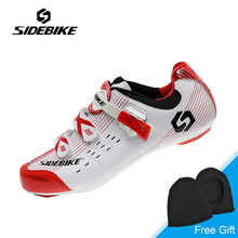Sidebike Professional Women Cycling Shoes Lightweight Highway Bike Bicycle Shoes Female Self-lock Road Cycling Shoes Ciclismo