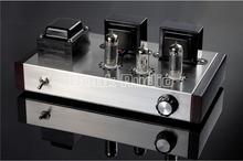 Douk Audio 6N2 + 6P1 Classe Un Tube À Vide Amplificateur Stéréo Intégré Amp 4 W + 4 W Pur À La Main