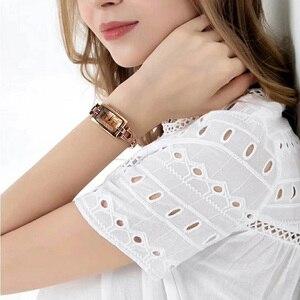 Image 5 - 줄리어스 여성 시계 일본 석영 우아한 시간 좋은 패션 드레스 체인 팔찌 쉘 소녀의 시계 생일 선물 상자