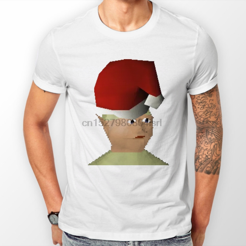 Osrs Christmas.Us 11 99 Old School Runescape Santa Gnome Child Christmas Tee Shirt Osrs Rs3 Xmas In T Shirts From Men S Clothing On Aliexpress Com Alibaba Group