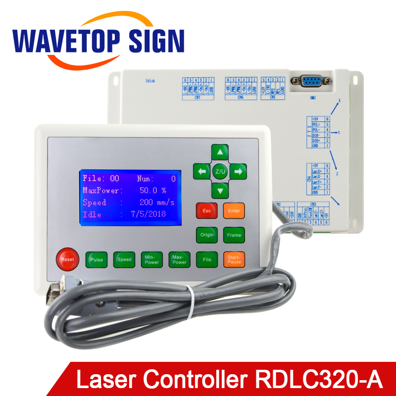 WaveTopSign Ruida RDLC320 A Co2 Laser DSP Controller use for Laser Engraving and Cutting Machine-in CNC Controller from Tools    1