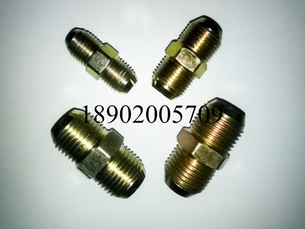 Hydraulic fittings american flared type tube unf