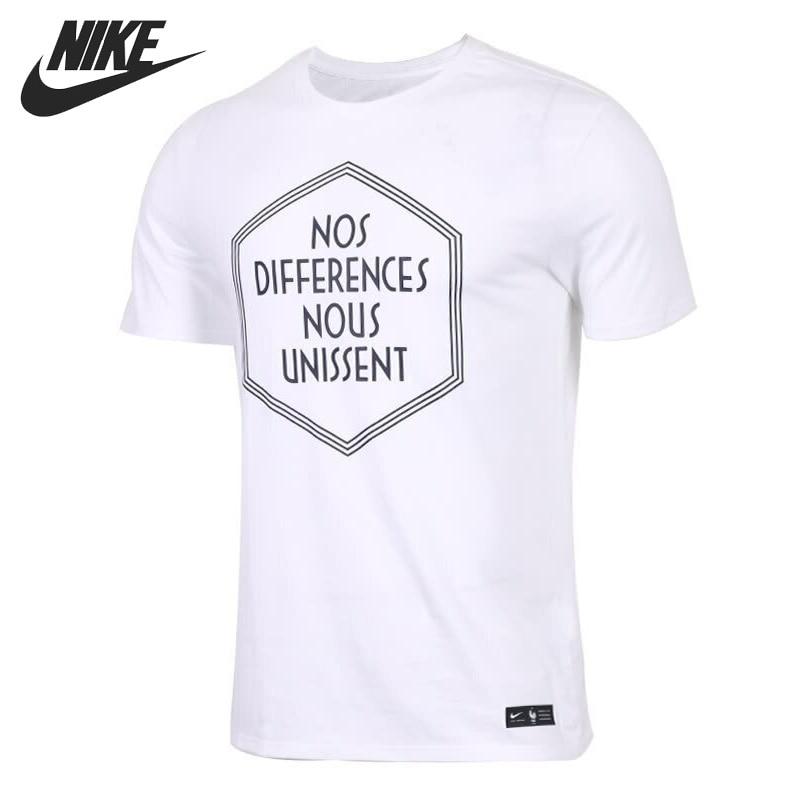 Excéntrico Bueno si  Original New Arrival 2018 NIKE AS FFF M NK TEE SQUAD Men's T shirts short  sleeve Sportswear Skateboarding T-Shirts  - AliExpress