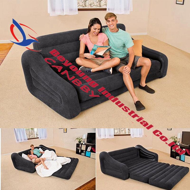 Astonishing Us 68 0 Intex 68566 Qeen Sleep Sofa Inflatable 2 In 1 Pull Out Sofa 2 Person Inflatable Couch Dorm Chair Waterproof Flocked Sofa Bed In Camping Mat Alphanode Cool Chair Designs And Ideas Alphanodeonline
