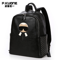 Fashion Designer Genuine Leather Women Backpacks Fashion High Quality Women Luxury Brand Backpack Cowhide Travel Backpacks