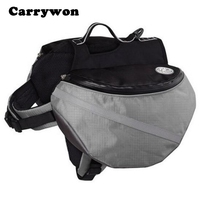 Carrywon Portable Carrier Dog Backpack Large Dogs Saddle Bags Pets Travel Outdoor Bag Sport Back Pack