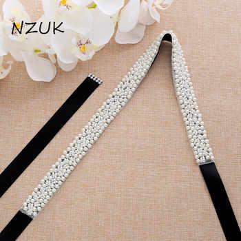 s204 Elegant Handmade Pearls Beaded Bridal Belts Pearl Sash Wedding Dress Accessories Evening Party Belt - SALE ITEM Weddings & Events
