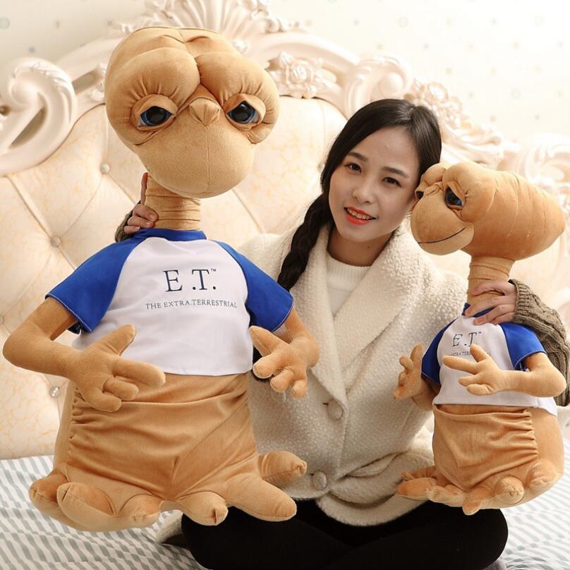 50 cm E.T Étranger La classique film entourant peluche jouets Bizarre de bande dessinée poupées Enfants le Jour de Noël meilleur cadeau