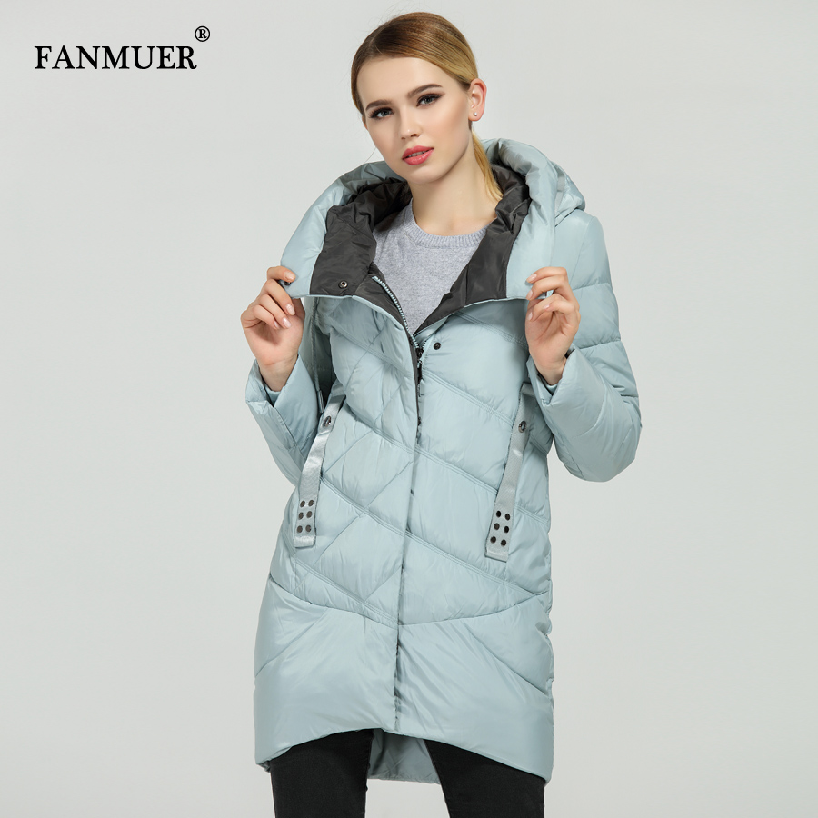 Fanmuer New 2017 Hot Sale Winter Womens Bio Down Thickening Jacket And Coat For Women High Quality Parka - 3