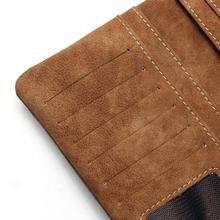 Women's Nubuck PU Leather Wallet