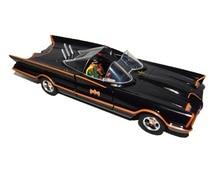 Jada 1:24 Diecast רכב באטמן Batmobile קלאסיקות טלוויזיה לינקולן Futura עם רובין צעצוע איור