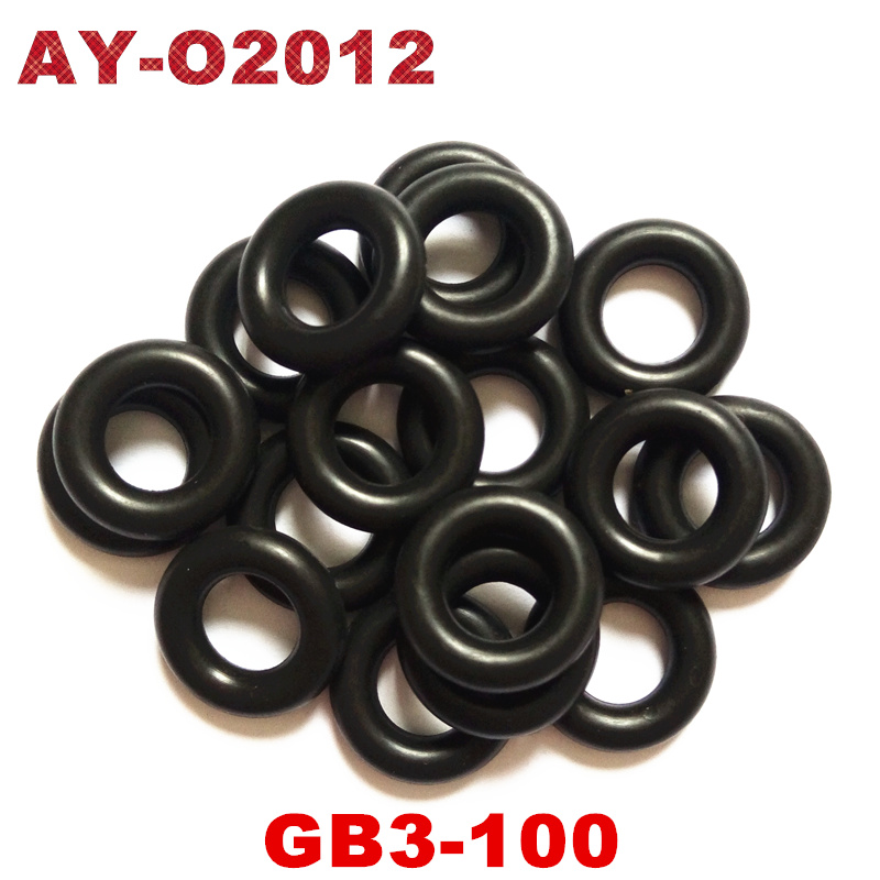 500pieces ASNU08C Universal Viton Orings Fuel injector orings fit for fuel injection repair kit AY O2012A
