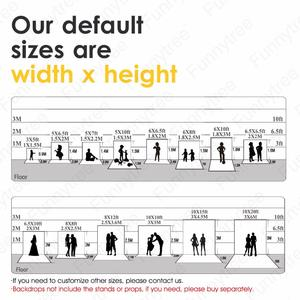 Image 5 - Funnytree photography backdrops light gray Solid color baby birthday newborn fond studio photo background photophone wall paper