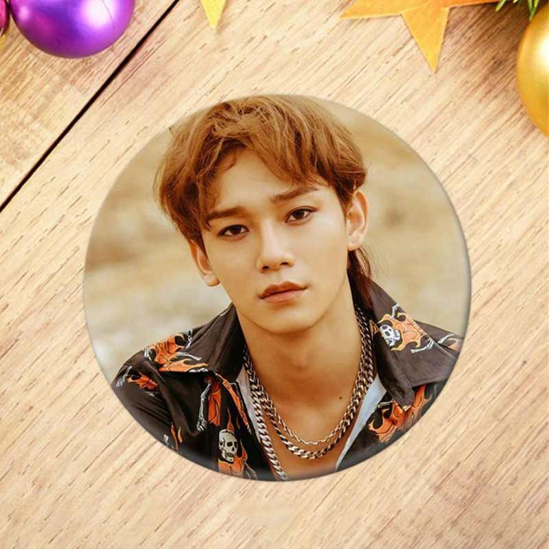 Kore KPOP EXO Albümü YAPMAYIN KARıŞıKLıK UP BENIM TEMPO Broş Pin Rozeti Giysi Aksesuarları Şapka Sırt Çantası Dekorasyon