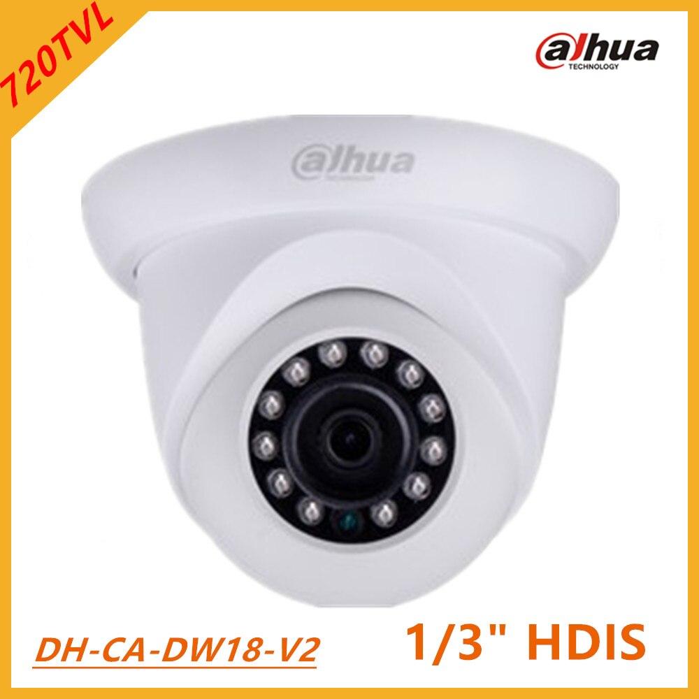 ФОТО Dahua Analog Camera 720TVL HDIS Water-proof IR Mini Dome Camera infrared 20m, Smart IR IP66 waterproof DC12 V DH-CA-DW18-V2