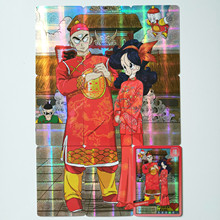 10pcs/set Super Dragon Ball Z Tien Shinhan Lunch Marry Heroes Battle Card Ultra Instinct Goku Vegeta Game Collection Cards цена