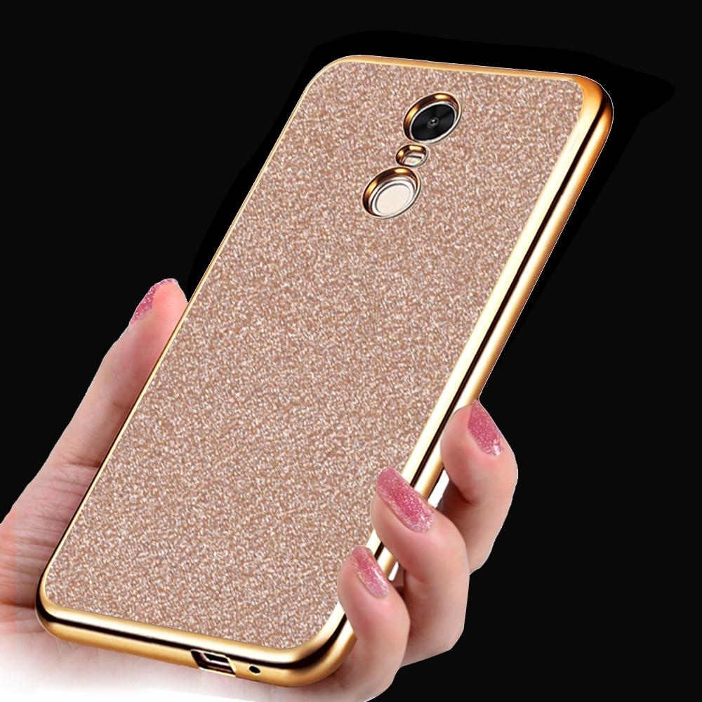 spedizione gratuita 6960f afbe4 US $1.85 48% OFF|Xiaomi redmi note 4 case redmi note 4 pro prime cover  Glitter Bling Phone Case for Xiaomi Redmi Note 4 Pro Case Crystal Cover-in  ...