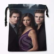 Fl-Q65 New The Vampire Diaries &3 Custom Logo Printed  receive bag  Bag Compression Type drawstring bags size 18X22cm 711-#F65