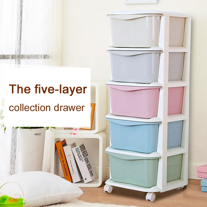 Multicolour storage cabinet plastic drawer cabinet finishing storage box storage cabinet fashion brief local
