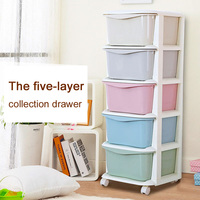 Multicolour storage cabinet plastic drawer cabinet finishing storage box storage cabinet fashion brief local