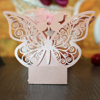 50pcs Creative DIY Wedding Favors and Gift Box