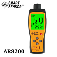 Газовый анализатор CO2 метр монитор детектор газа детектор углекислого газа внутренний монитор качества воздуха CO2 тестер AR8200