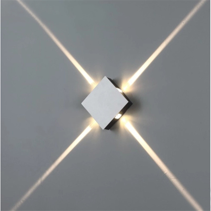 small round or square led wall lamp (4)