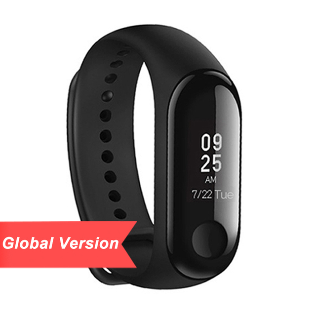 Global Version Xiaomi Mi Band 3 Smart Tracker Instant Message 5ATM Waterproof OLED Touch Screen