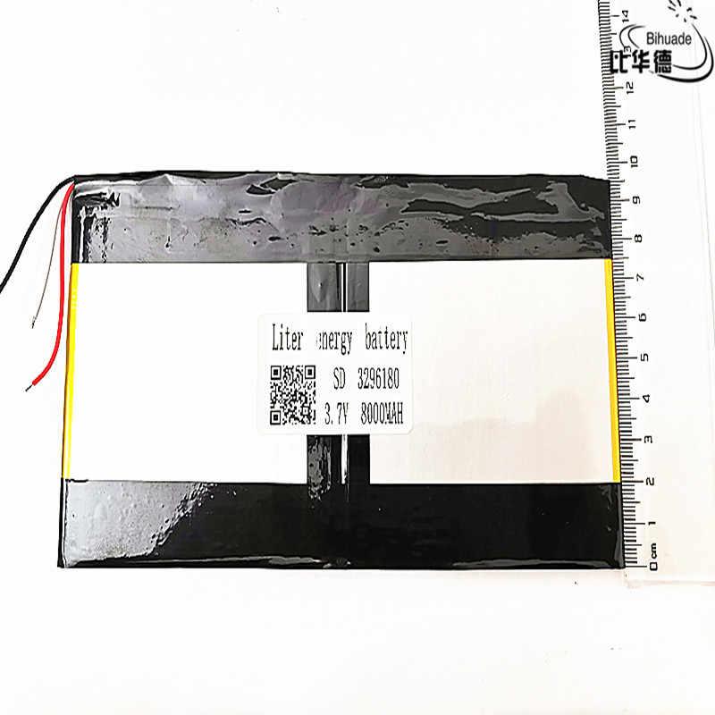 3296180 3.7 v 8000 mAh Voor Teclast X98 air 3G v99i Tablet PC Batterij 3 draad Perfecte kwaliteit van grote capaciteit alternatieven