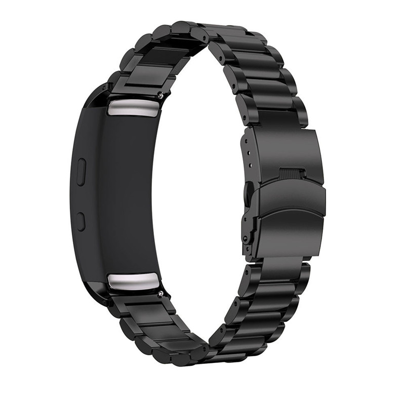 Multicolor Durable18mm Genuine Stainless Steel Bracelet Smart Watch Band Strap For Samsung Gear Fit2 SM-R360 Correa Reloj