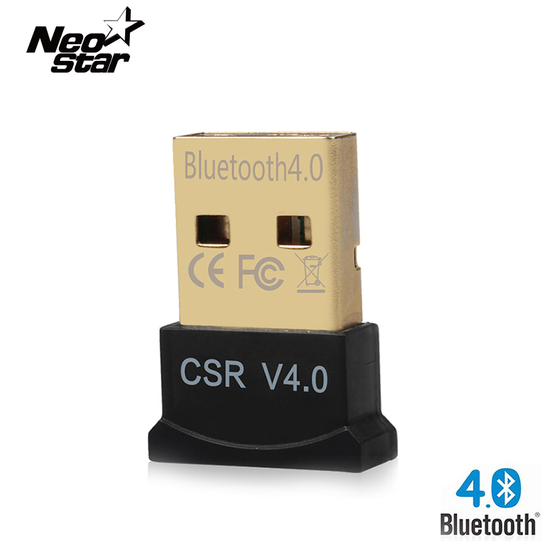 High speed Bluetooth 4.0 CSR4.0 Adapter Dongle Adapters Dual Mode Adapter Mini USB 2.0 for Computer Laptop PC Win XP Vista 7 8