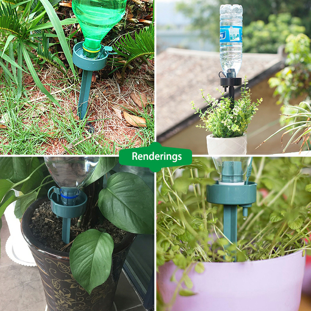 Hot Sale adjustable Automatic watering device potted garden supplies bonsai planting essential gardening tools Drip device