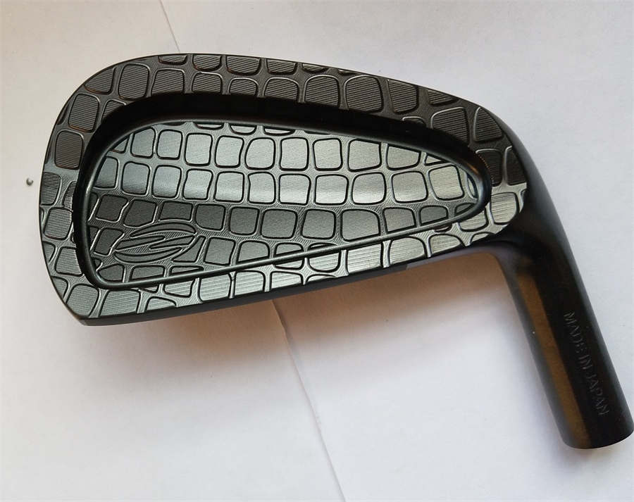 Playwell 2018 Zodia Original  Limited Edition  Black Color  Golf Iron  Head  Forged Carbon Steel Putter