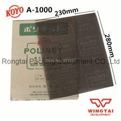 10 pcs lot 100 original abrasive tools japan koyo water resistant abrasive cloth sheets mesh 1000.jpg 250x250