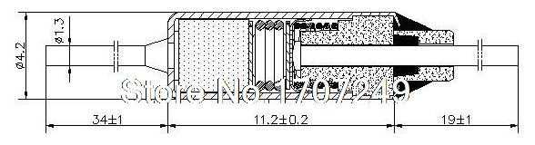 Free Shipping 200PCS/lot NEW SF214E SEFUSE Cutoffs Thermal Fuse 216C  216 Degree 10A 250V Metal fuse SF214E