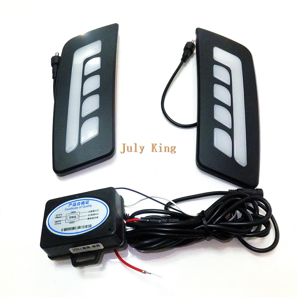 July King LED Light Guide Daytime Running Lights DRL, LED Front Bumper Fog Lamp case for Ford Ranger 2012~15 1:1 Replacement hot sale electric bike battery 36v 12ah 500w lithium ion e bike battery with pvc case bms 2a charger