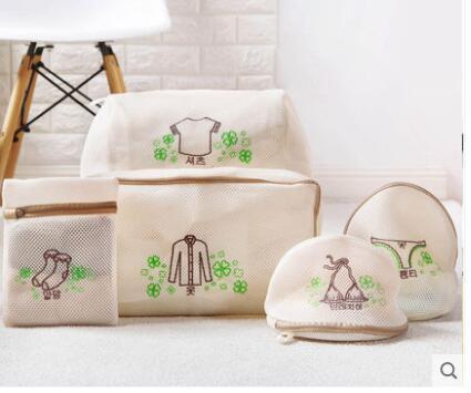 Engrossar saco de lavar roupa máquina de lavar roupa interior saco de lavagem sutiã saco de malha máquina de lavar roupa especial saco de roupa
