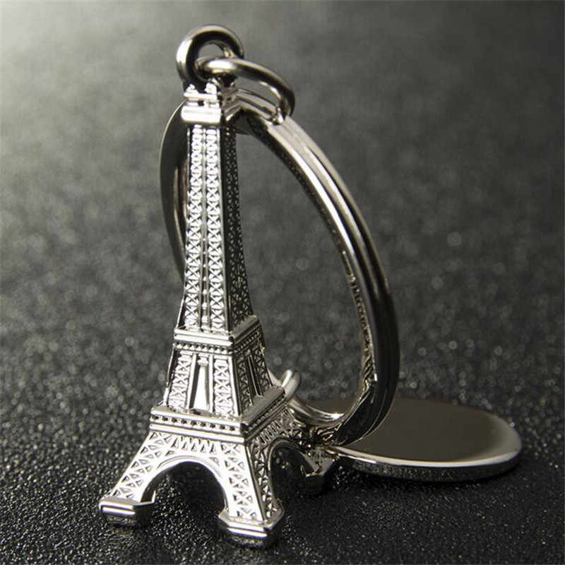 fashion the Eiffel Tower keychain for men novlty gifts Key chains women drop ship ok fj841