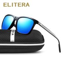 ELITERA Brand Aluminum Magnesium Polarized Men Sunglasses Vintage Eyewear Accessories Sun Glasses For Men/Women gafas de sol