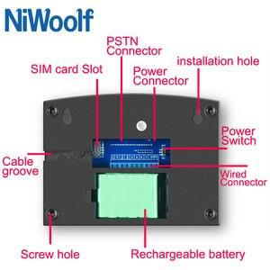 Image 4 - Sistema de alarma GSM Wifi PSTN Compatible con detectores inalámbricos/con cable de 433MHz, Sensor de puerta, alarma, relé de casa inteligente, salida, aplicación para teléfono