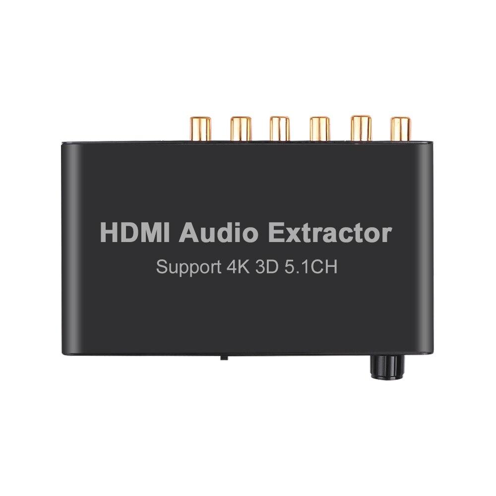 4K 3D 5.1CH аудио экстрактор декодирование коаксиальный к RCA AC3/DST to 5,1 усилитель аналоговый конвертер для PS4 DVD плеер HDTV