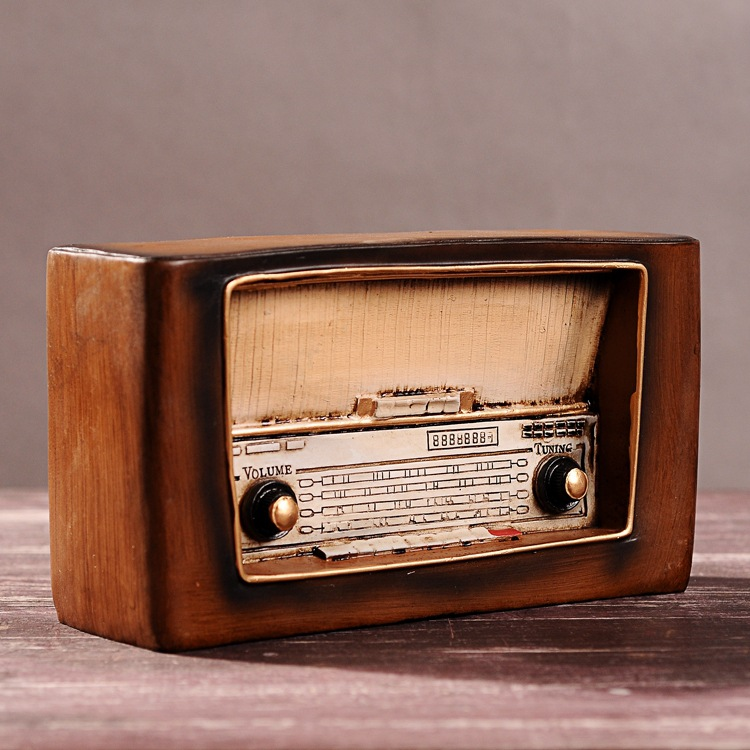 Zakka home decoration accessories ornaments craft retro for Classic house radio
