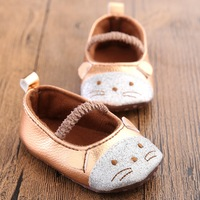 2016 New Female Baby Shoes Baby Toddler Shoes Spring And Soft Soled Shoes Cartoon Images Of