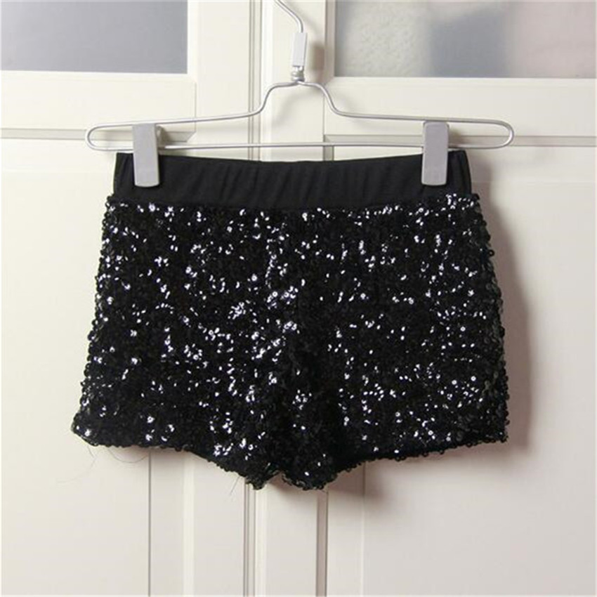 short feminino new fashion Sequins Free Nightclub perform leading dancer shorts women short cintura alta pantalones cortos mujer