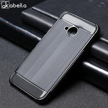 AKABEILA Case For HTC U11 Life Case Silicone U11 Life Cover Anti-Knock Brush TPU Soft Shell For HTC U11 Life 5.2 Black Protector цены