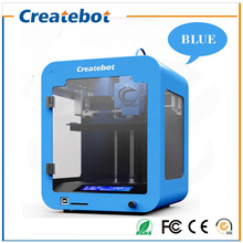Newest Design Desktop Small FDM Createbot Super mini 3D Printer Hot Sell Full Mental Frame LCD Screen Affordble 3d printer kit