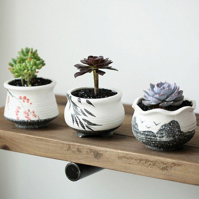 Us 1135 12 Offpulpit Ogrodowe Doniczki Do Kwiatów Kreatywny Doniczki Klasyczny Ceramiki Z Podwójnymi Szybami Mini Ceramiczne Sadzone Cena Hurtowa